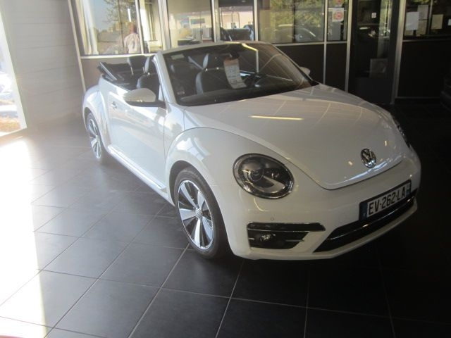 Volkswagen COCCINELLE CABRIOLET 1.4 TSI 150CH BLUEMOTION TECHNOLOGY COUTURE EXCLUSIVE DSG7 Essence BLA² Occasion à vendre