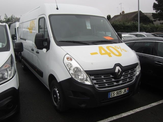 Renault MASTER III FG F3500 L3H2 2.3 DCI 145CH ENERGY GRAND CONFORT EURO6 Diesel BLANC Occasion à vendre