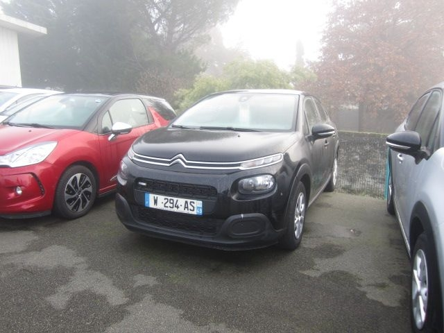 Citroen C3 PURETECH 82CH FEEL Essence NOIR Occasion à vendre
