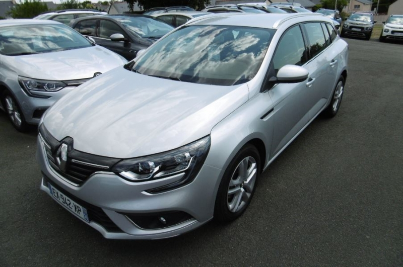 Renault MEGANE IV ESTATE 1.5 DCI 110CH ENERGY BUSINESS EDC Diesel GRIS Occasion à vendre
