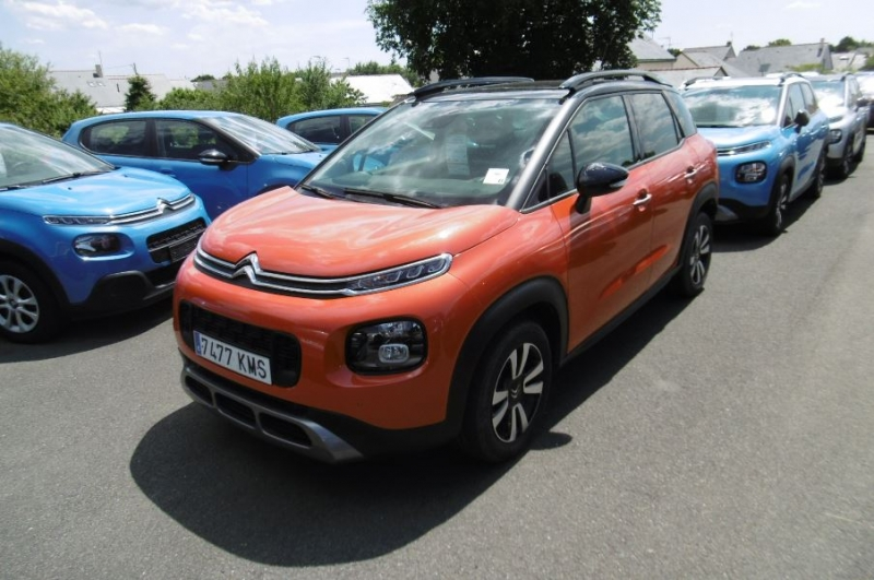Citroen C3 AIRCROSS PURETECH 130CH S&S SHINE E6.D-TEMP Essence ORANGE Occasion à vendre