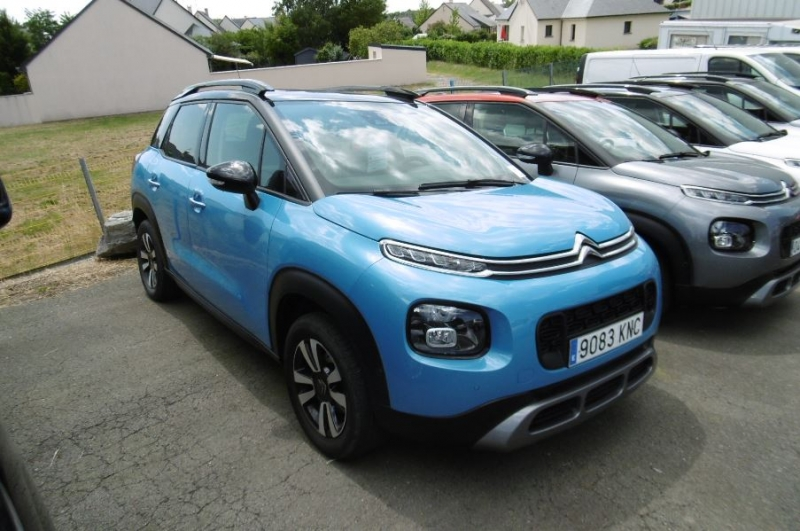 Citroen C3 AIRCROSS PURETECH 110CH S&S SHINE EAT6 E6.D-TEMP Essence BLEU Occasion à vendre