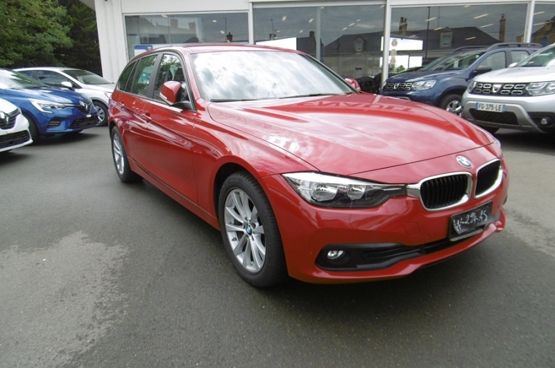 Bmw SERIE 3 TOURING (F31) 320D 190CH BUSINESS Diesel ROUGE Occasion à vendre
