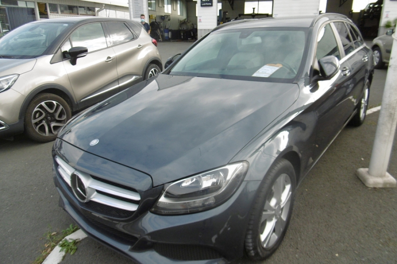 Mercedes-Benz CLASSE C BREAK (S205) 220 D 4MATIC 7G-TRONIC PLUS Diesel GRIS Occasion à vendre