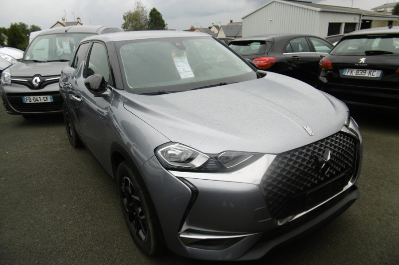 Ds DS 3 CROSSBACK BLUEHDI 100CH SO CHIC Diesel GRIS Occasion à vendre