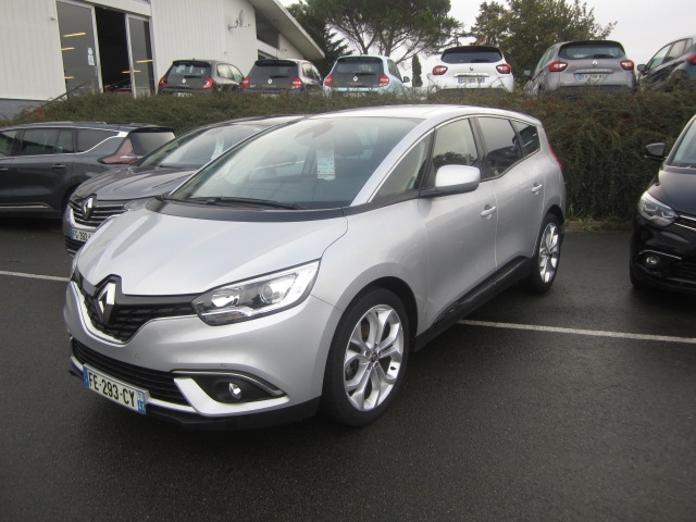 Renault GRAND SCENIC IV 1.7 BLUE DCI 120CH BUSINESS 7 PLACES Diesel GRIS Occasion à vendre