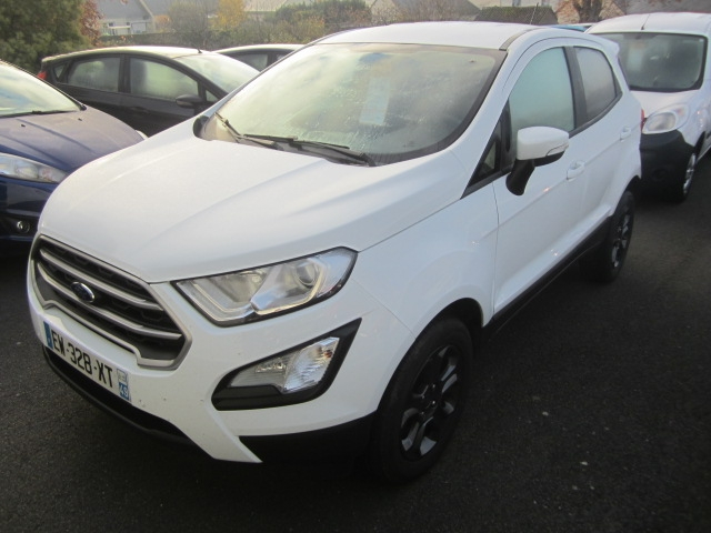 Ford ECOSPORT 1.5 ECOBLUE 100CH TREND EURO6.2 Diesel BLANC Occasion à vendre