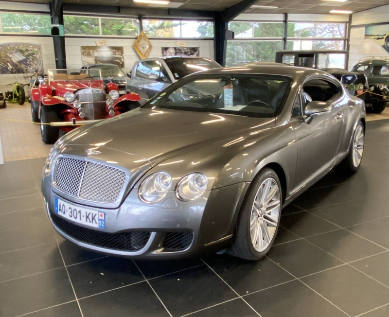 Bentley CONTINENTAL GT 6.0 Essence GRIS Occasion à vendre
